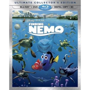 Pick up your copy of Finding Nemo on Blu Ray 3D December 4, 2012. Courtesy of DisneyPixar